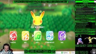 Pokemon Let's Go Pikachu - Live Stream - Part 18. Shiny Hunting, will we get that monkey??