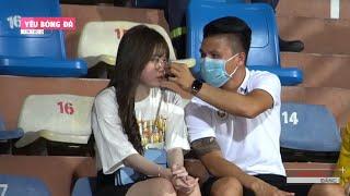 Quang Hải tình tứ với Huỳnh Anh, bị Fan bao vây xin chụp hình