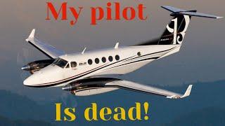 PASSENGER Lands Plane After PILOT DIES | Doug White KING AIR N559DW