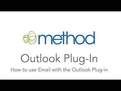 [Method CRM] Outlook Plug-in: How to use Email