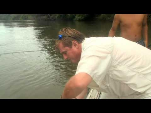 "A Bicuda Completes the Rio Travessao ""Grand Slam - Episode 4 - The Fish Finder on the Rio Travessao"
