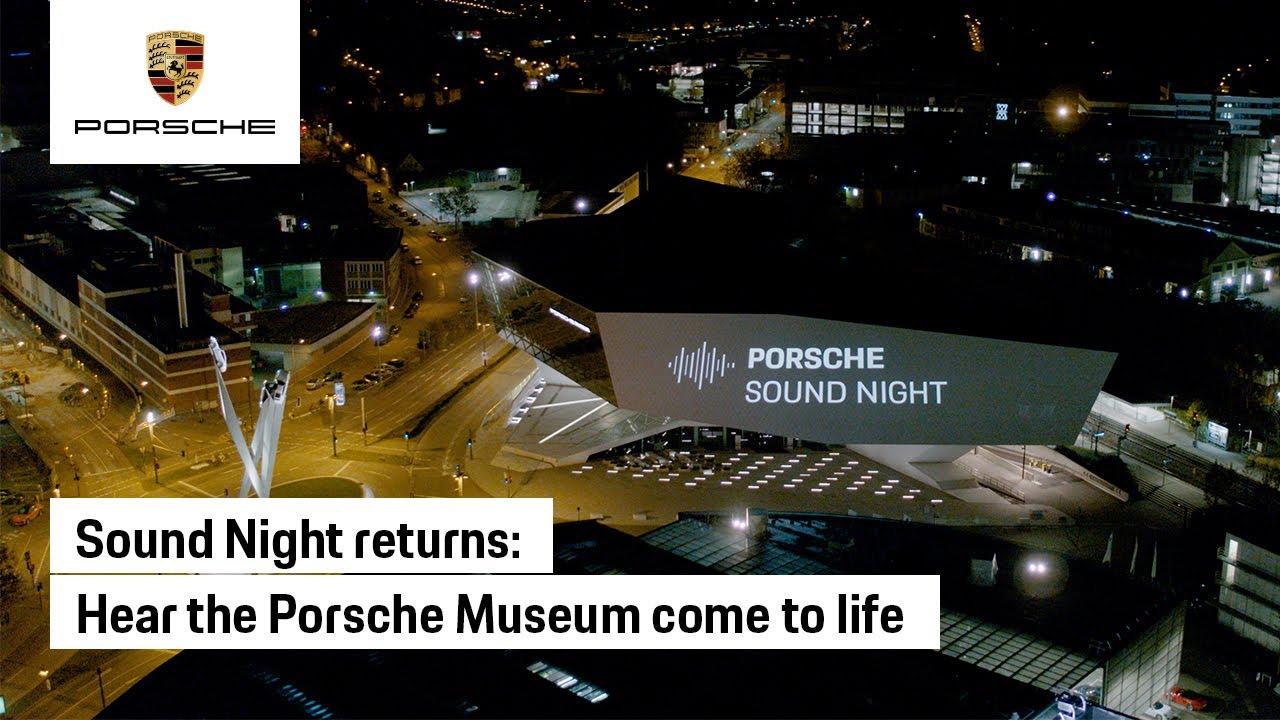 This was the 2021 Porsche Sound Night 'Next Level'