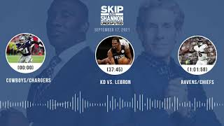 Cowboys/Chargers, KD vs. LeBron, Ravens/Chiefs | UNDISPUTED audio podcast (9.17.21)