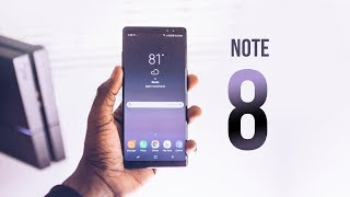 Samsung Galaxy Note 8 Review - 2 Months Later! (ft iPhone X)