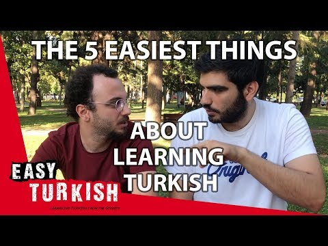5 easiest things to learn in Turkish | Easy Turkish photo