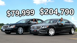 2020 Mercedes-Maybach vs The Cheapest Maybach You Can Buy
