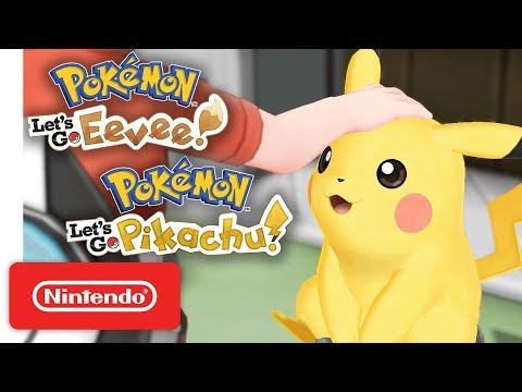 Pokémon: Let?s Go, Pikachu! and Pokémon: Let?s Go, Eevee! - Nintendo Switch