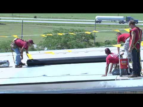 Single Ply Roofing System in Lima, Ohio - Cotterman & Company, Inc.