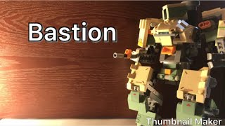 (Overwatch) LEGO Bastion stop motion