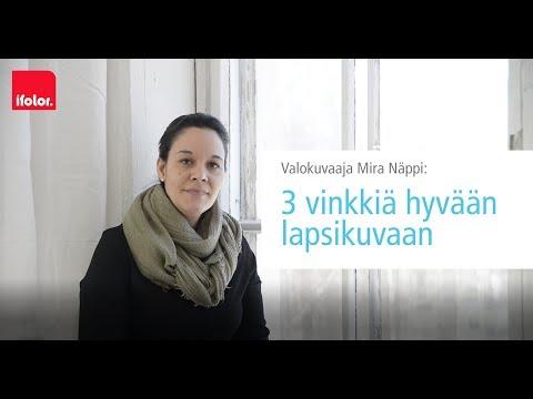 Valokuvaaja Mira Näppi: 3 vinkkia hyvään lapsikuvaan