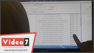 """بالفيديو..أقبال كثيف بمعامل جامعة """"الازهر"""" لتسجيل رغبات المرحلة الثانية"""