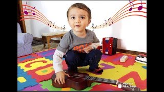 Toddler Playing Musical Instruments/ABC Song