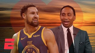 Stephen A. can't get over how good Klay Thompson is | NBA on ESPN