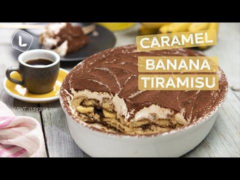 Tiramisu Recipe | How to Make Caramel Banana Tiramisu | Food Channel L Recipes