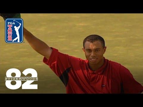 Tiger Woods wins 1999 Memorial Tournament Chasing 82