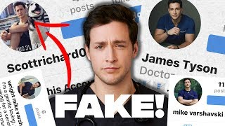 Exposing FAKE Accounts & Catfish SCAMS | Doctor Mike