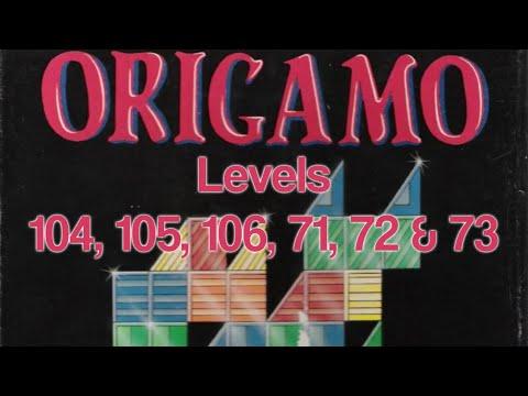 Origamo (1994) - PC - Levels 104, 105, 106, 71, 72 & 73