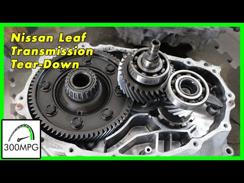 Nissan Leaf Transmission/Gearbox Teardown
