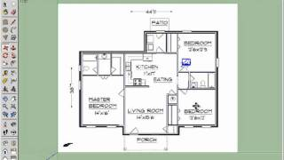 Et365 2d Door Cut Into Floorplan Walls Youtube