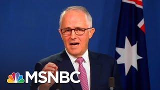 Australian Prime Minister Does Donald Trump Impression | All In | MSNBC
