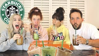 RECREATING OUR FAVORITE STARBUCKS DRINKS!!