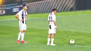 When Ronaldo & Dybala Play Together