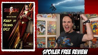 SHAZAM! Movie Review - Spoiler Free | Keep it Going DC