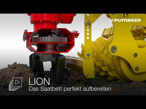 Animace - rotační brány LION