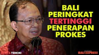 Bali Peringkat Tertinggi Penerapan Prokes