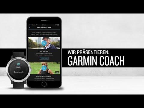 Garmin Coach - ein echter Coach auf deinem Wearable