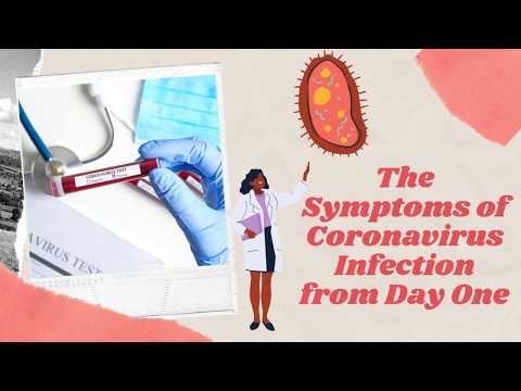 The Symptoms of Coronavirus Infection from Day One