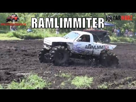 RAMLIMMITER Dodge Mudding At Perkins Summer Sling Mud Bog 2018