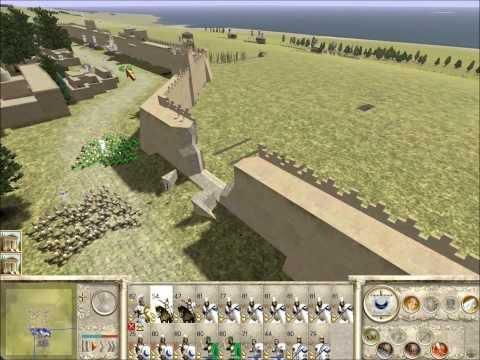 Rome Total War Online Battle #1925: Pyrrhic Siege of Lilybaeum (Reverse Battle)