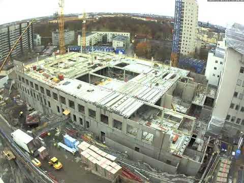 Webb-kamera film från Södersjukhuset