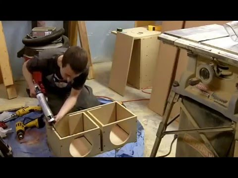 building a ported subwoofer enclosure