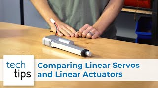 Comparing Linear Servos & Linear Actuators - with Kyle and Jason