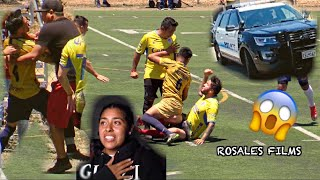 Insane Sunday League Fight *Player Gets Choked*
