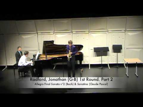 Radford, Jonathan (G-B) 1st Round. Part 2