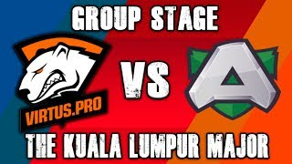 VP vs Alliance Group Stage - The Kuala Lumpur Major Dota 2