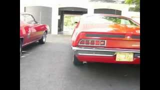 1970 Ford Torino GT 351 and Ford Cobra Jet 429 Ram Air