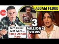 Hero Akshay donates Rs 2 crore for Assam; Angry on Priyanka Chopra for tweeting