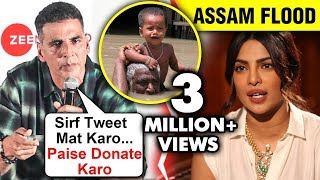 Hero Akshay donates Rs 2 crore for Assam; Angry on Priyank..