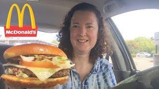 MdDonalds Garlic White Cheddar Burger Review