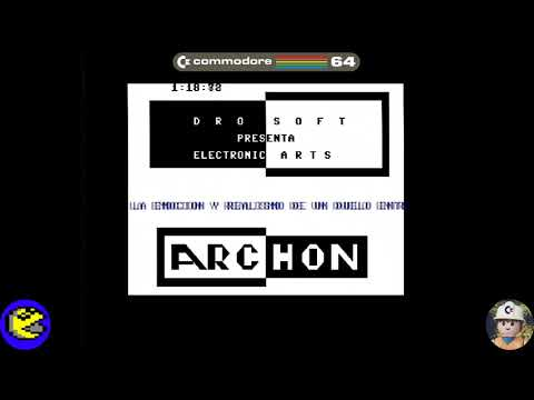 Archon loader, Commodore 64 - Real por S-Video