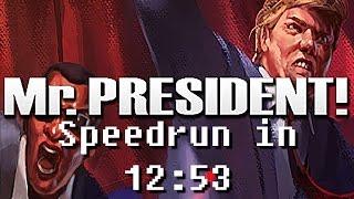 Mr.President! Speedrun in 12:53