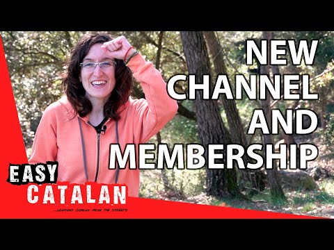 Learn Catalan from the streets - new channel and membership opportunities! photo