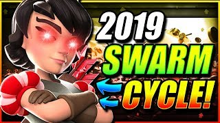 NEW 3.1 SUPER FAST SWARM CYCLE DECK is UNREAL!! DESTROY 2019 META!!
