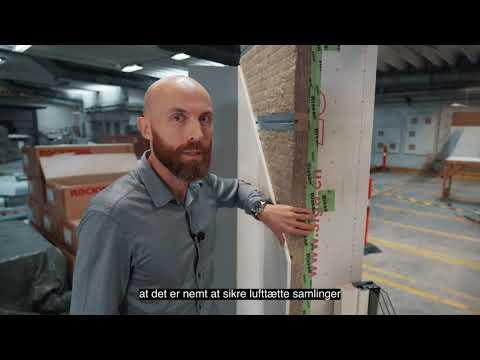 Rockzero: Teknisk gennemgang af væggens opbygning fra inderst til yderst