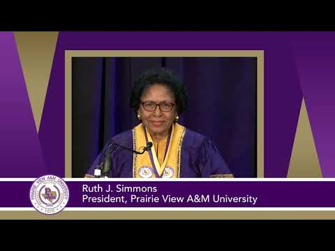 Summer 2020 Virtual Commencement: Ruth Simmons