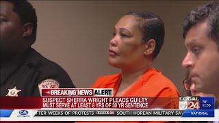 Sherra Wright pleads guilty in Lorenzen Wright murder case
